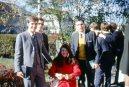 Renate with Elders