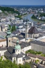 Salzburg from Festung
